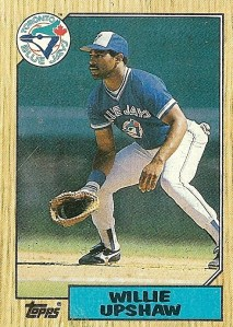 Blue Jays' Willie Upshaw
