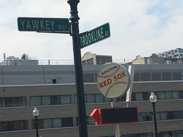 Yawkey Way and Brookline Ave.